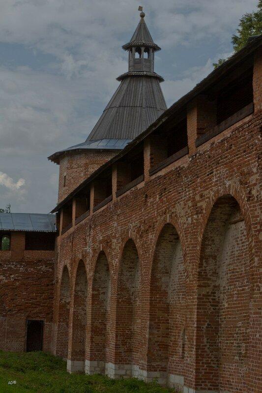Караульная башня (угловая)