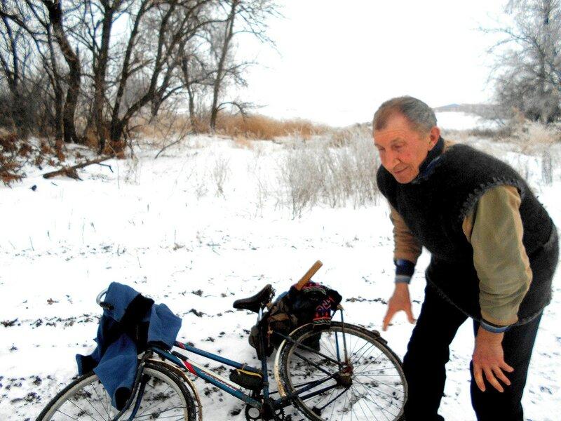 Потеплело от движения ... В походе декабрьском, снежно-туманном,