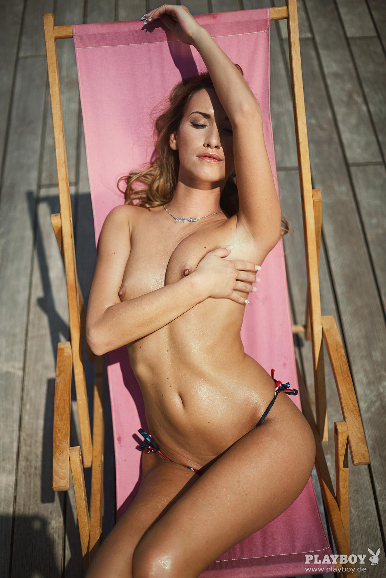 Девушка месяца Штефани Балк / Stefanie Balk - Playboy Germany august 2016 playmate