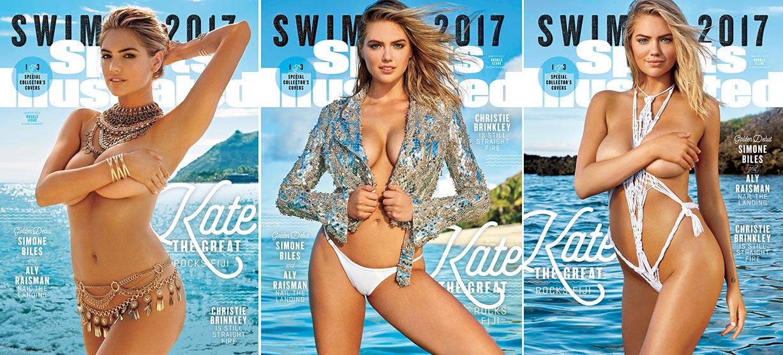 Kate Upton / Кейт Аптон в купальниках из новой коллекции Sports Illustrated Swimsuit 2017 issue / in Fiji by Yu Tsai