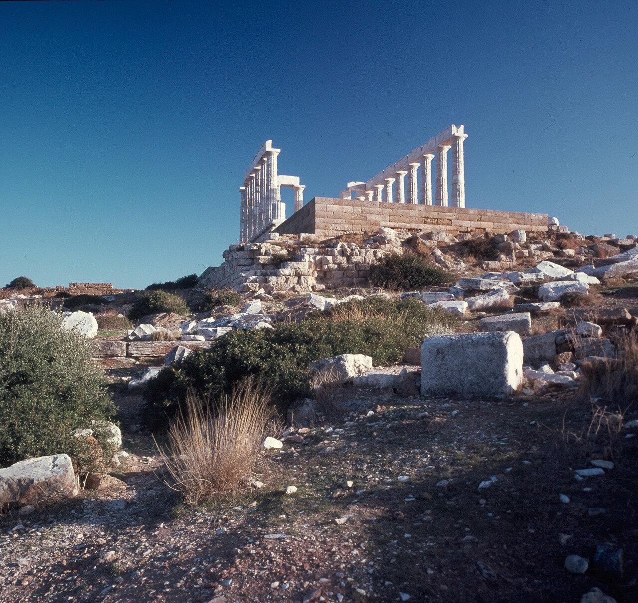 Храм Посейдона. Вид с запада