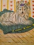Тихомирова Мария (рук. Стефак Ирина Николаевна) - «Моя собака»