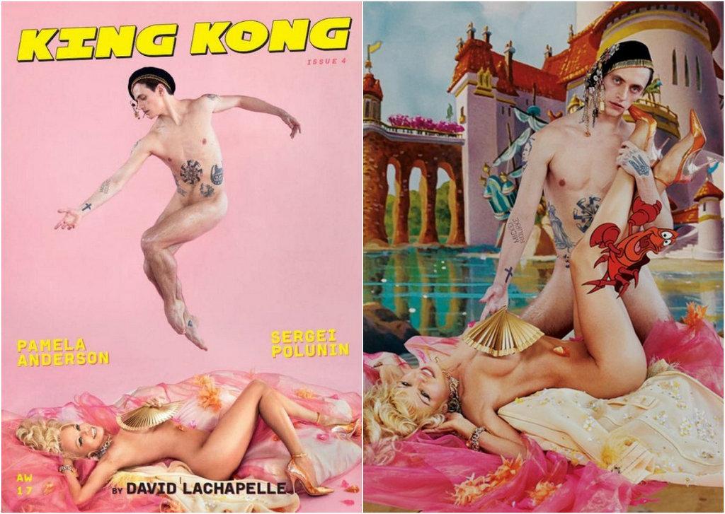 Памела Андерсон в журнале King Kong №4