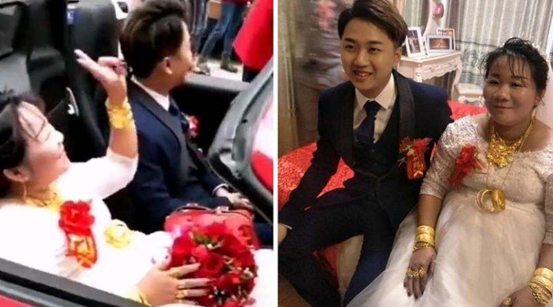 38-летняя китаянка заплатила родителям 23-летнего парня $800 000, чтобы сыграть с ним свадьбу