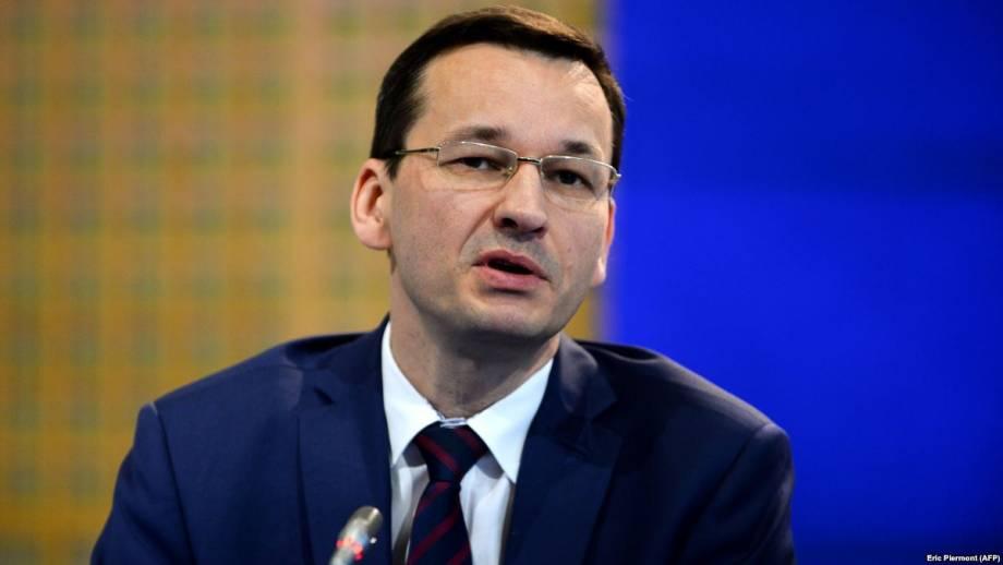 Премьер Польши приветствовал заявление США относительно «Северного потока-2»