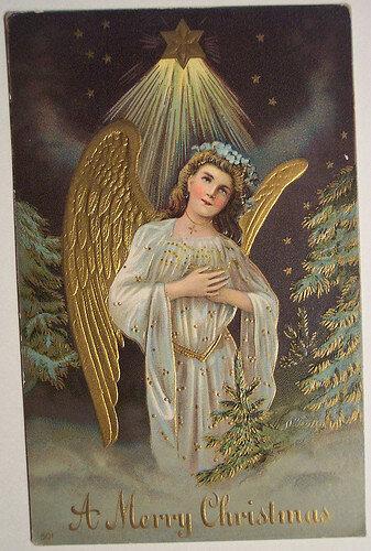Открытки Ангелы