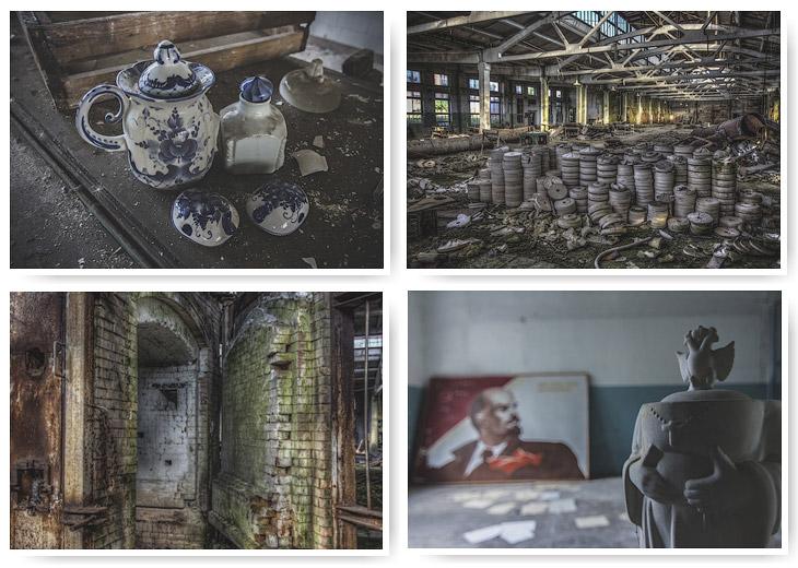 Руины фарфорового завода (30 фото)