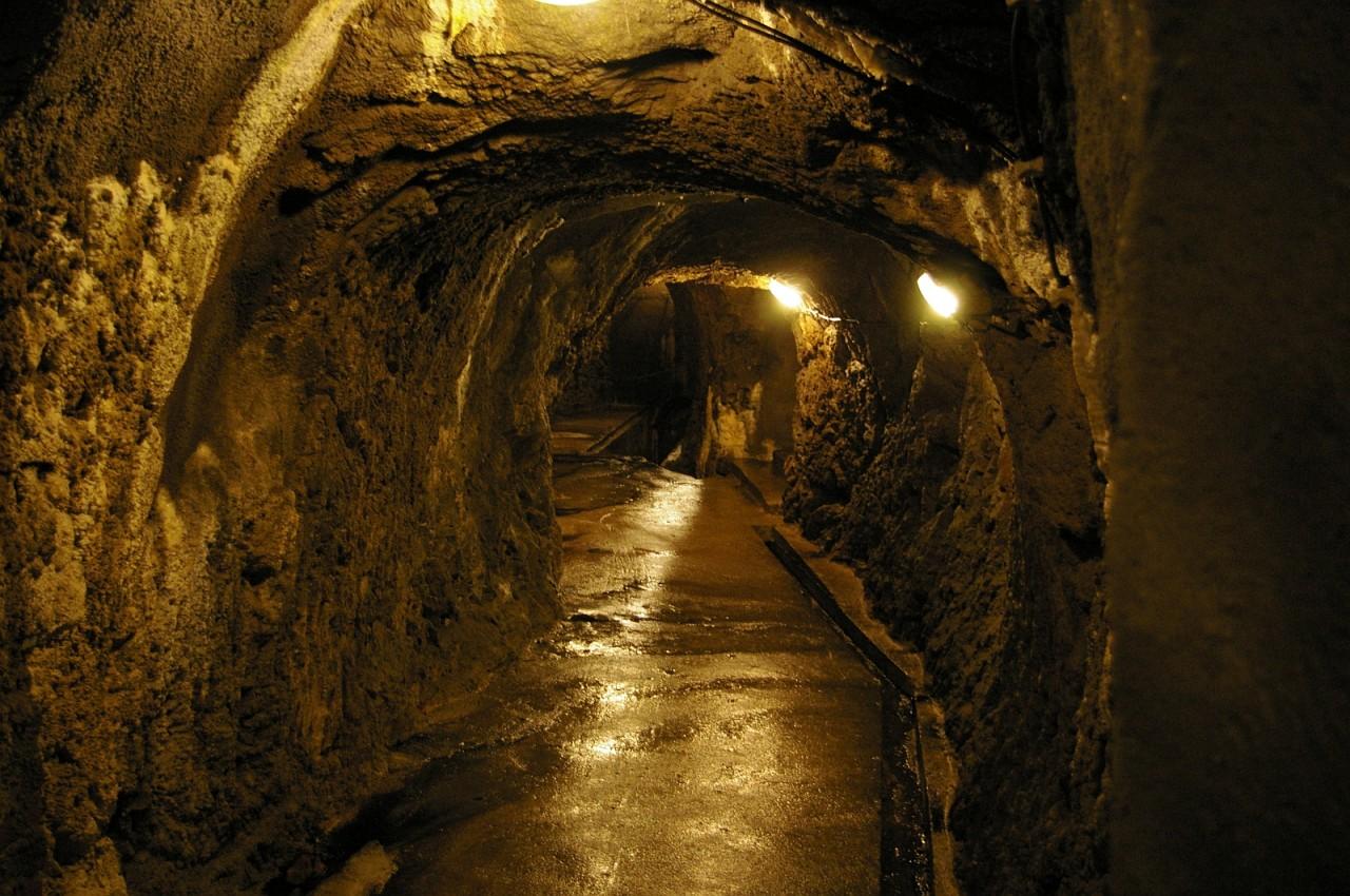 Подземный город в Чехии (4 фото)