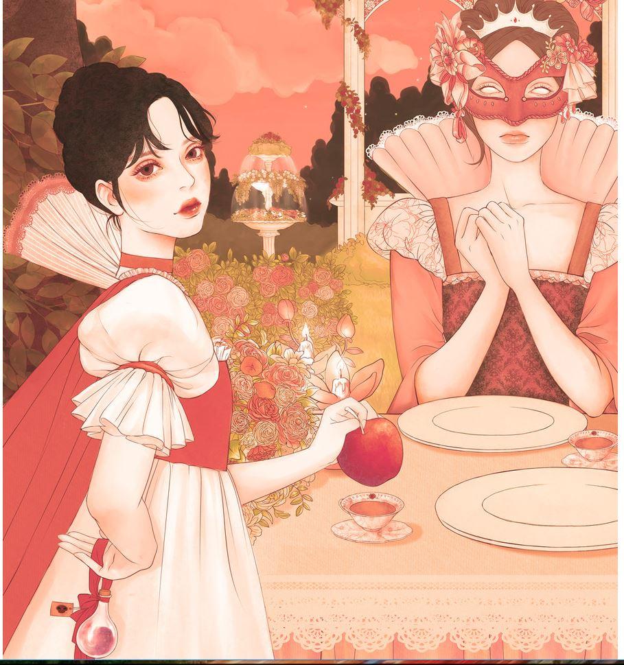 Иллюстрации 마리 Художникиллюстратор, впрочем, пэчвоке, Девушка, популярность, получила, Почему, иллюстраторов, азиатских, молодых, многих, тренд, сегодня, карамельная, Южной, гамма, любимая, вирусными, стали, работы