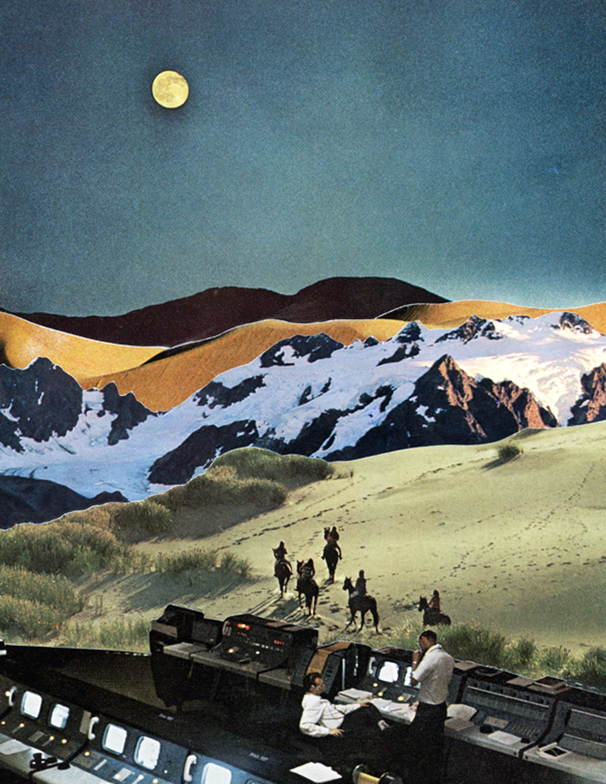 Mesmerizing Collages by Jake Lee