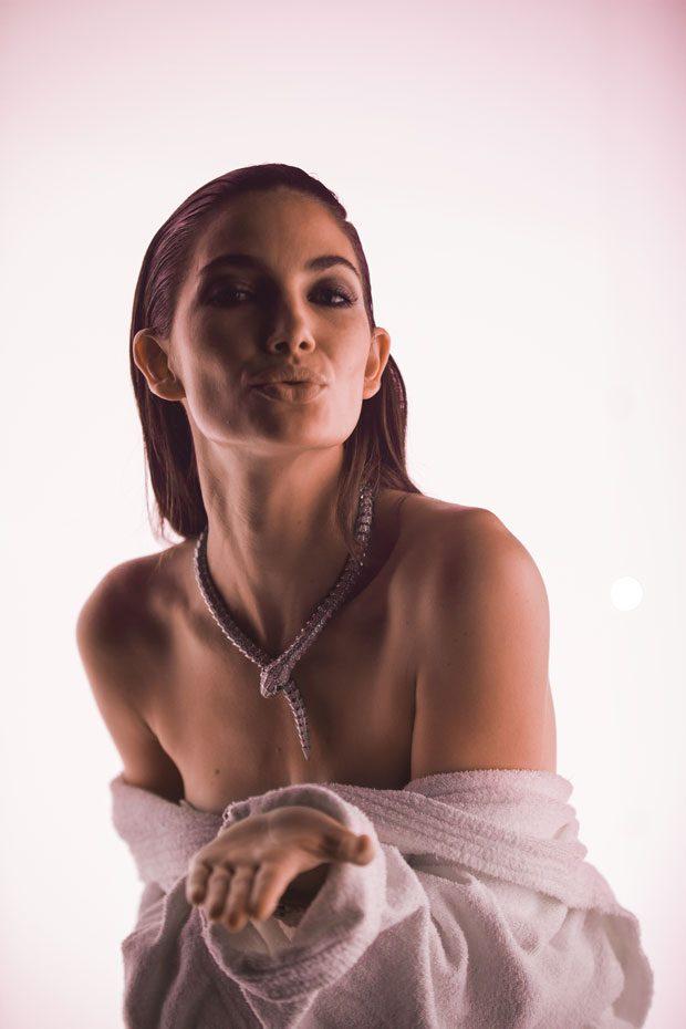 Lily Aldridge for BVLGARI The New Serpenti Collection