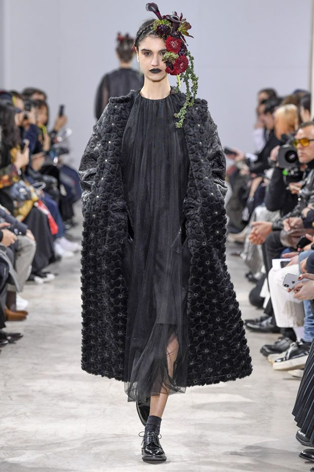 #PFW: Noir Kei Ninomiya Fall Winter 2018/19 Collection