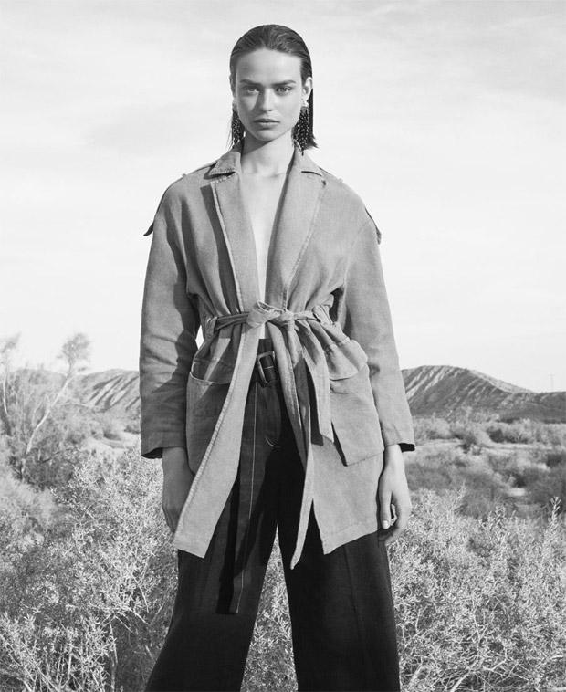 Birgit Kos Models ZARA Spring Summer 2018 Collection