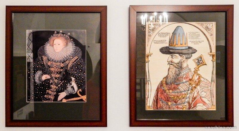 Елизавета I Тюдор и Иван Грозный, Старый Английский двор, Москва