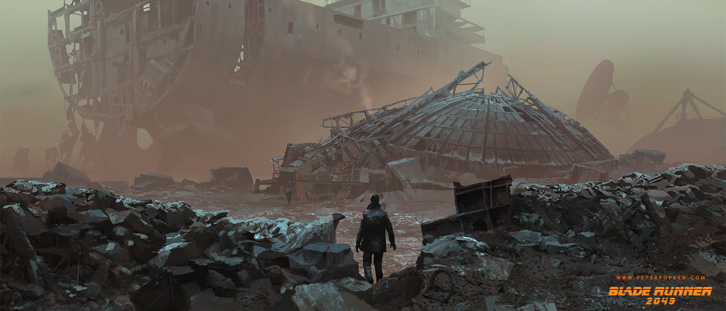 Blade Runner 2049 Concept Art by Peter Popken