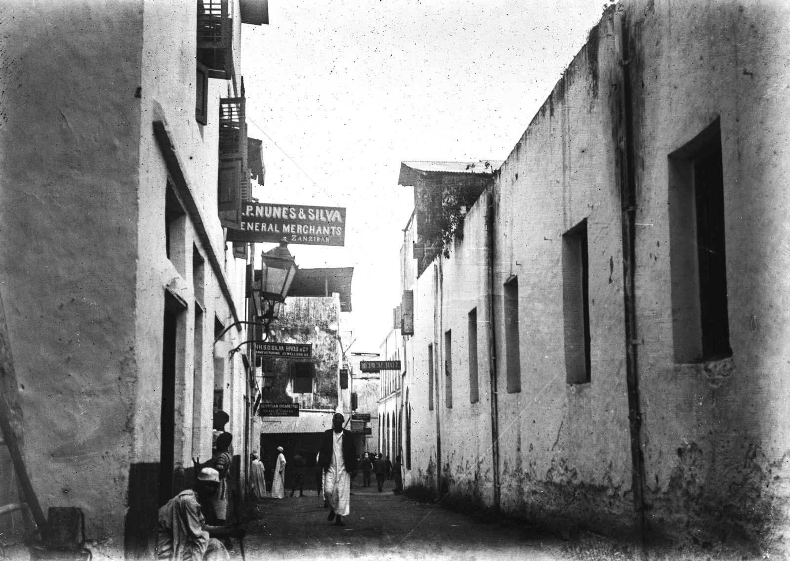 161. Улица в Дар-эс-Саламе
