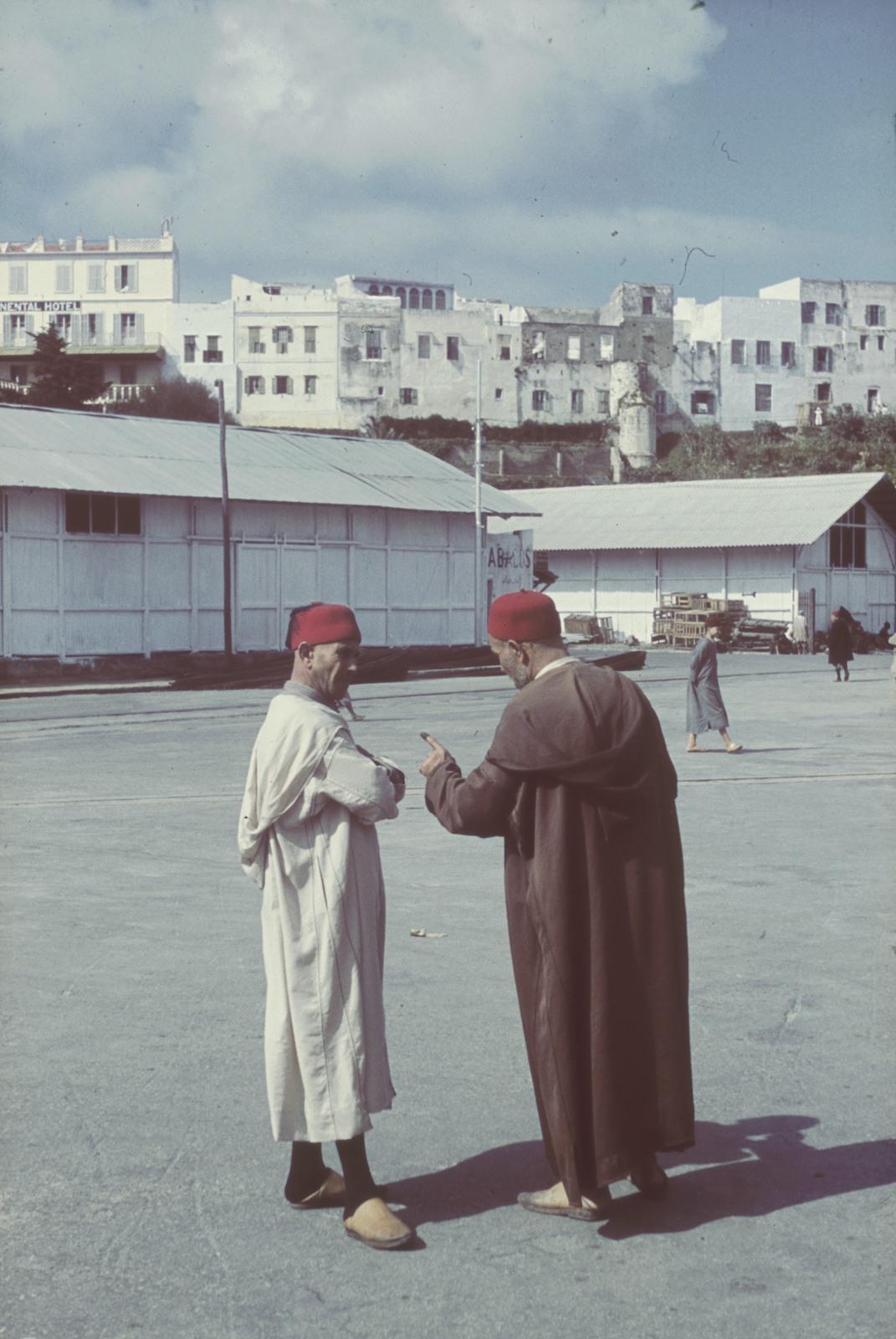 Каир. Уличная сцена