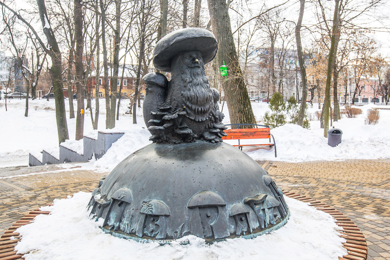 Памятник загадочной поговорке