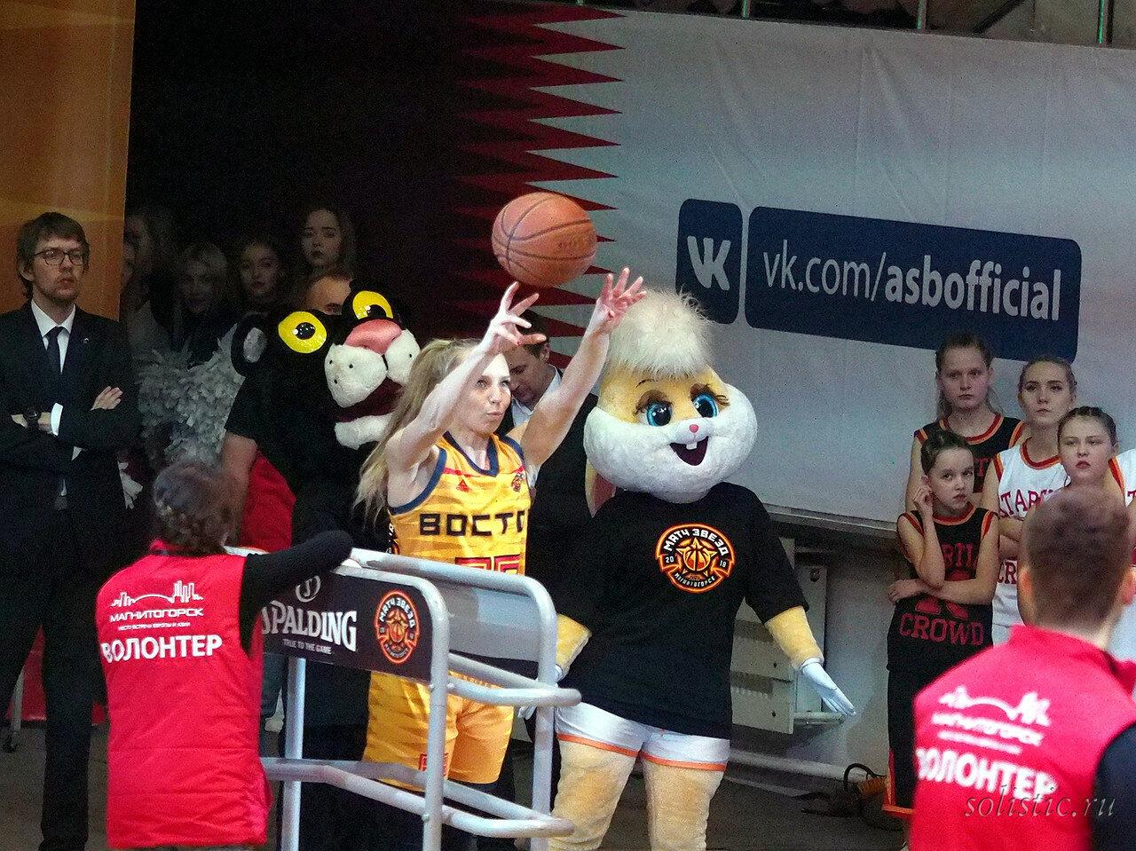 94 Матч звезд АСБ 2018 (ассоциации студенческого баскетбола)
