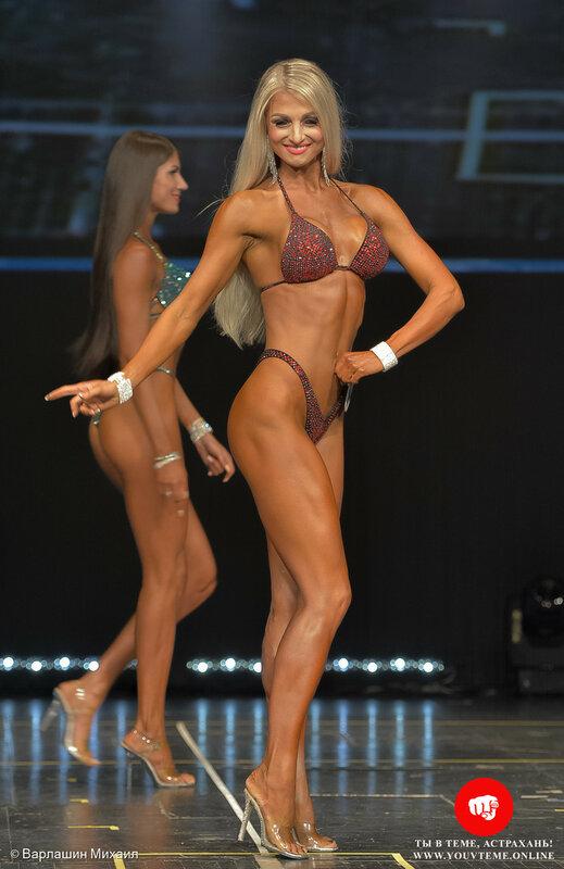 Категория: Фитнес-бикини +172см. Чемпионат России по бодибилдингу 2017