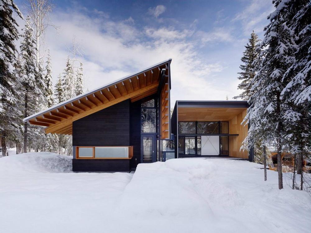 Дом для семьи в канадских Скалистых горах