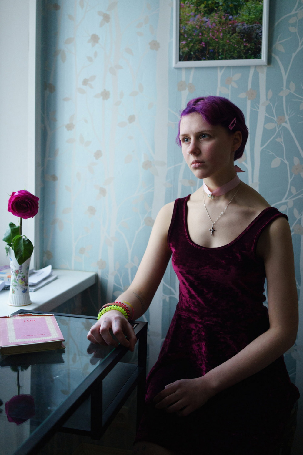 Youth and recklessness in the pictures of Olya Vorobeva