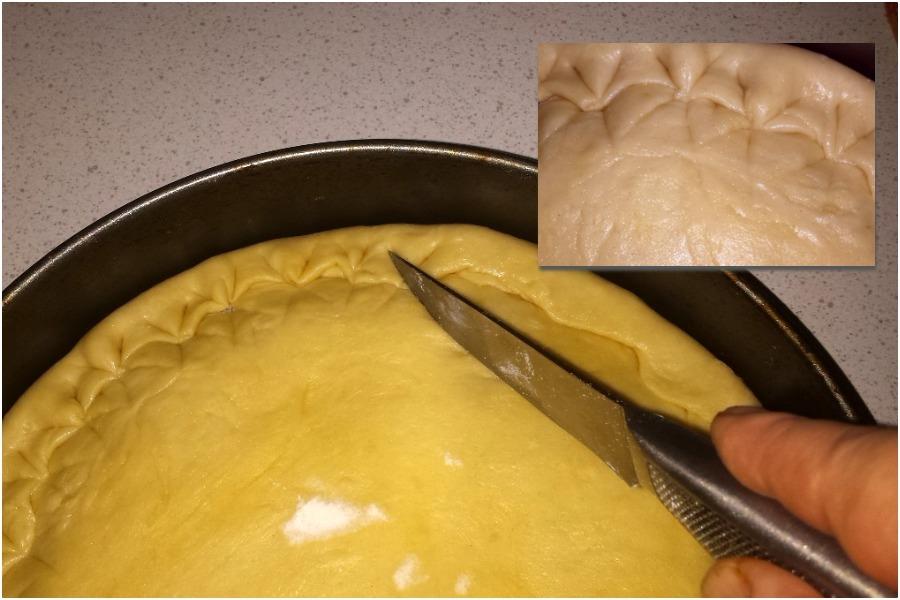 Пирог с капустой «Гости на пороге»