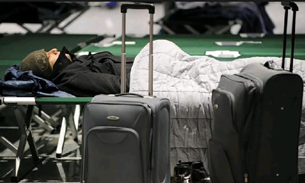Встоличных аэропортах задержано иотменено 45 рейсов