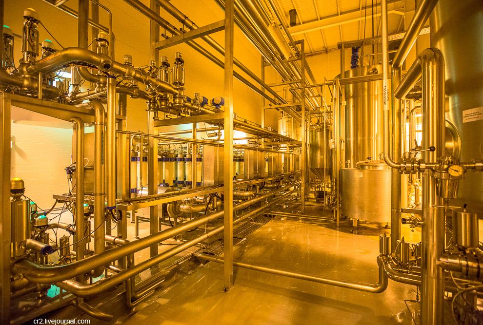 17. На Московской Пивоваренной Компании используют кизельгуровые и мембранные фильтры. В основе перв