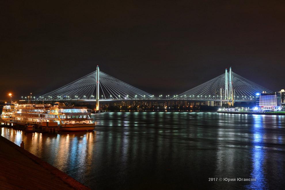 11. Финляндский железнодорожный мост: