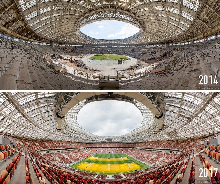 2. Сам я к футболу равнодушен, и меня куда больше интересует архитектура и монументальность современ