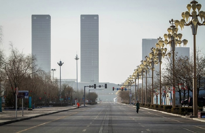 Заброшенный город-миллионер (1 фото)
