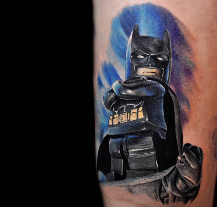 The Lego Minifig tattoos of Max Pniewski