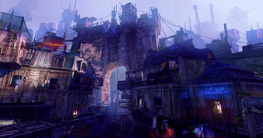 Sombre Futur – Les impressionnants concept arts de Paul Chadeisson (25 pics)