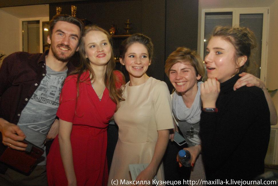Молодые актеры и режиссеры