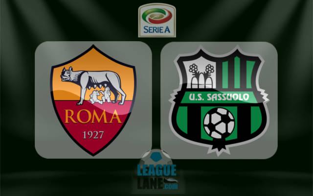 Рома – Сассуоло (30.12.2017) | Итальянская Серия А 2017/18 | 19-й тур
