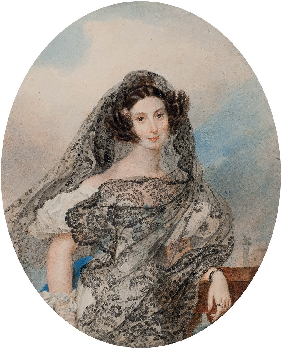 Портрет Джованины Пачини (1803-1875). Около 1831 частное