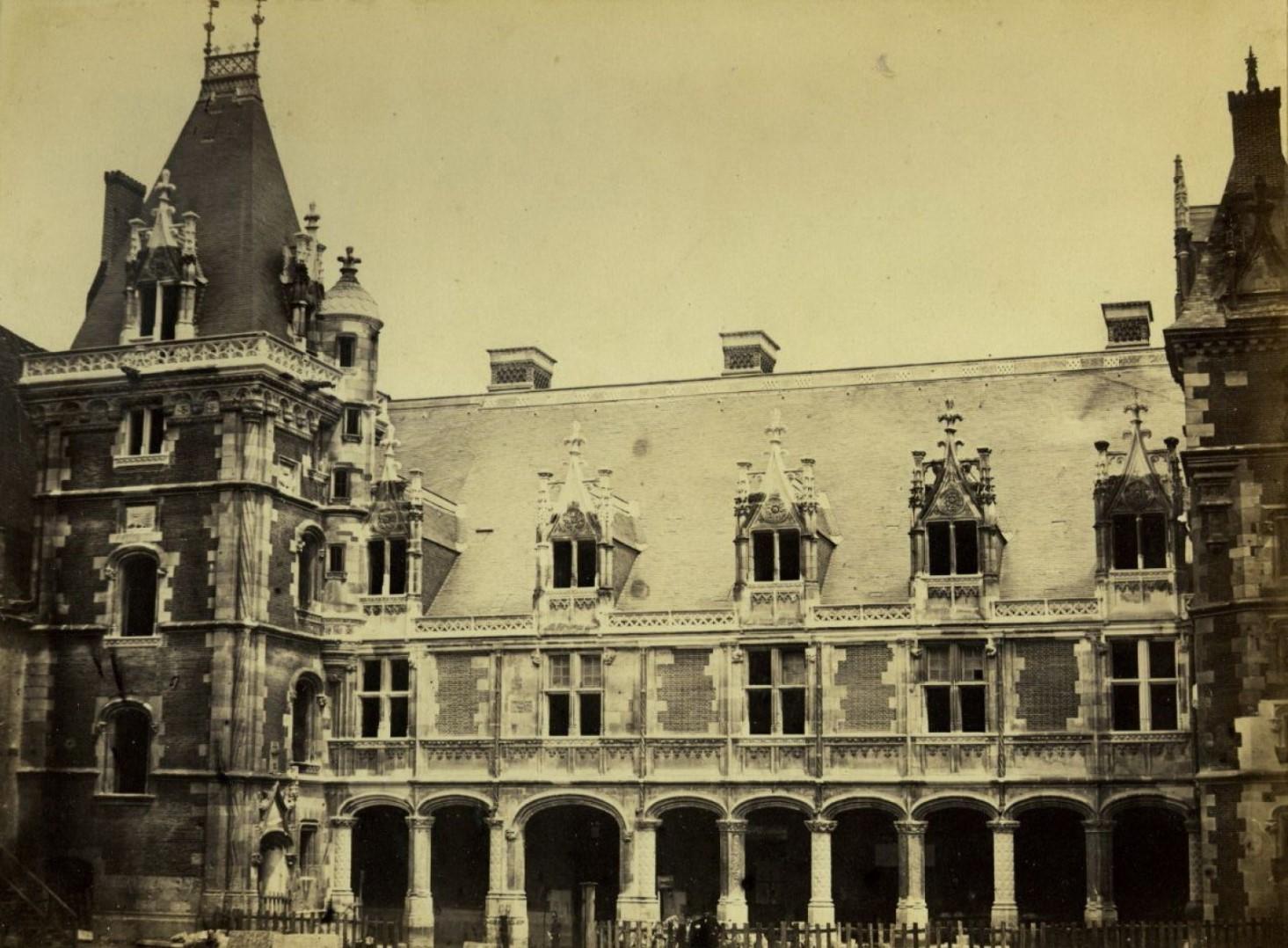 1860-е. Замок Шенонсо