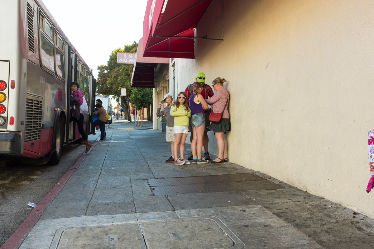 Общественные места: Креативная уличная фотография Майкла Мартина