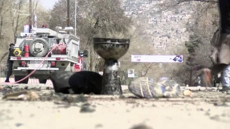 Мощный взрыв в Кабуле: кадры с места теракта (видео)