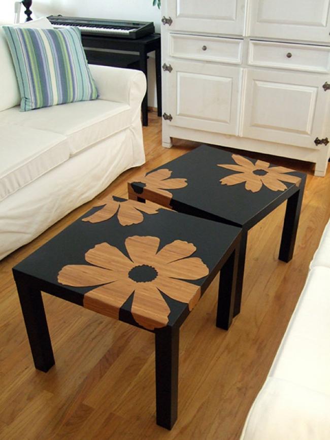© craftynest     Смастерить подобный столик вам помогут дельные советы . Придумайте свой
