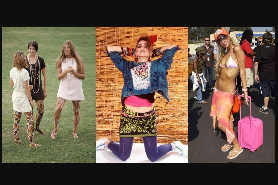 Худшие тенденции моды от 60-х до 2000-х»