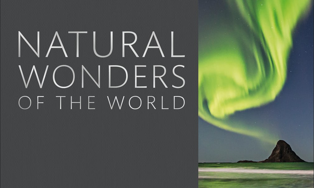 Natural Wonders of the World in a Book