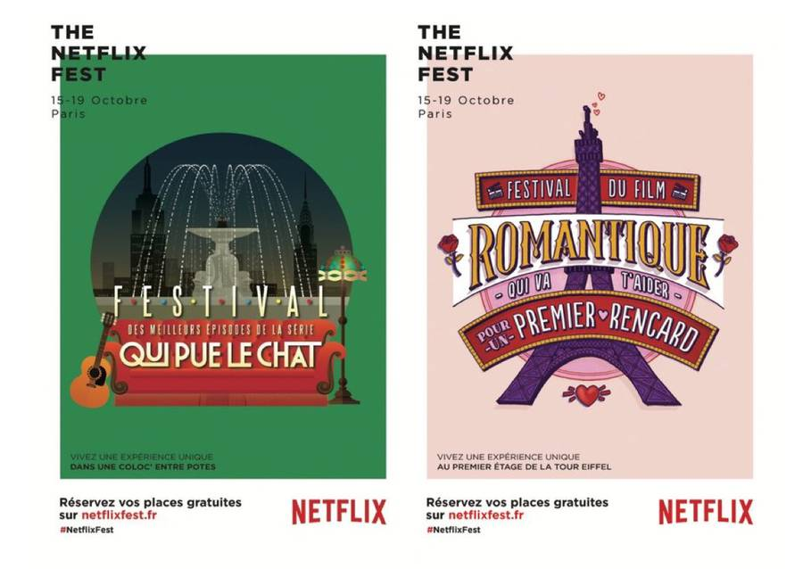 Netflix Festival in Paris