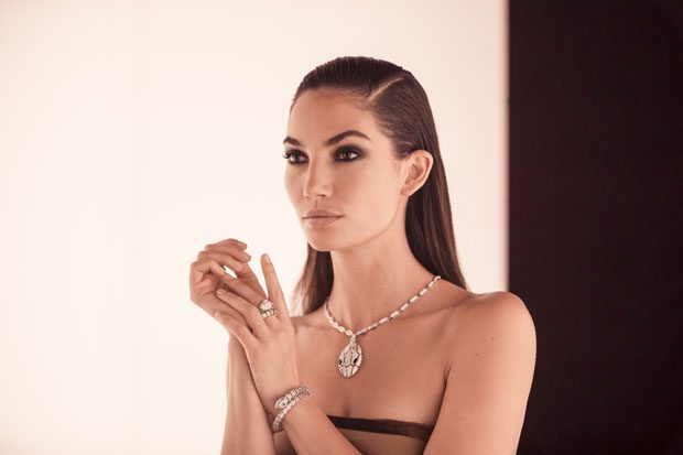 Lily Aldridge for BVLGARI The New Serpenti Collection