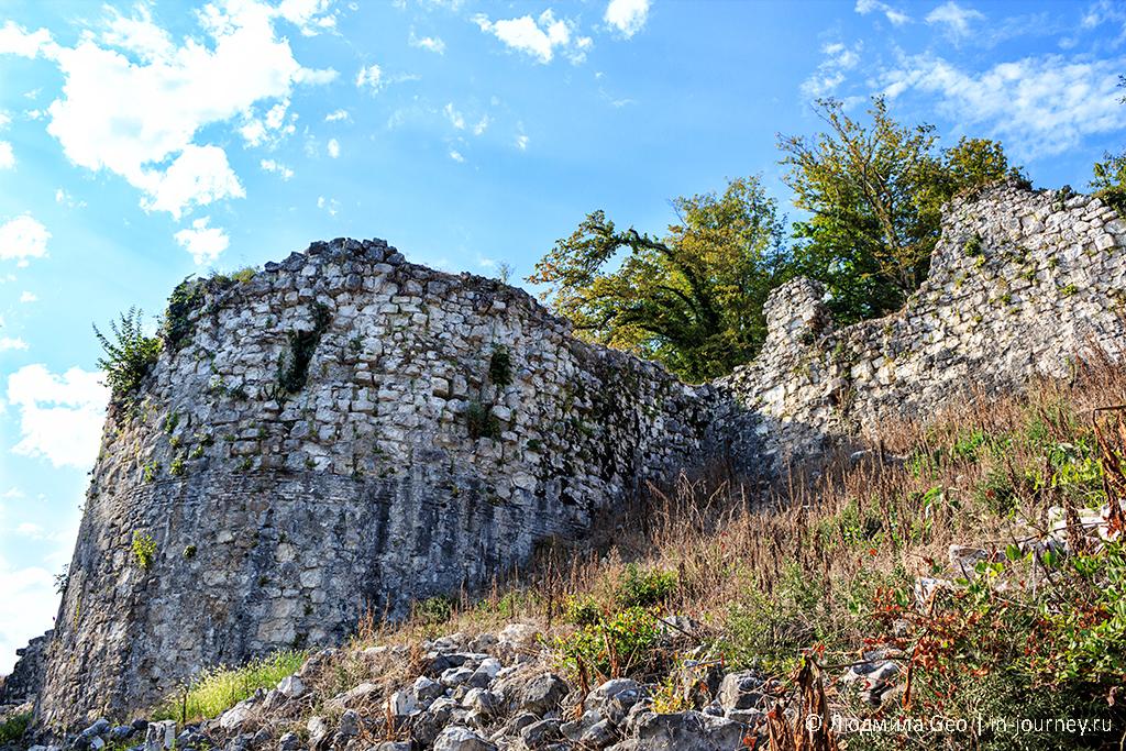 баншя Анакопийской крепости