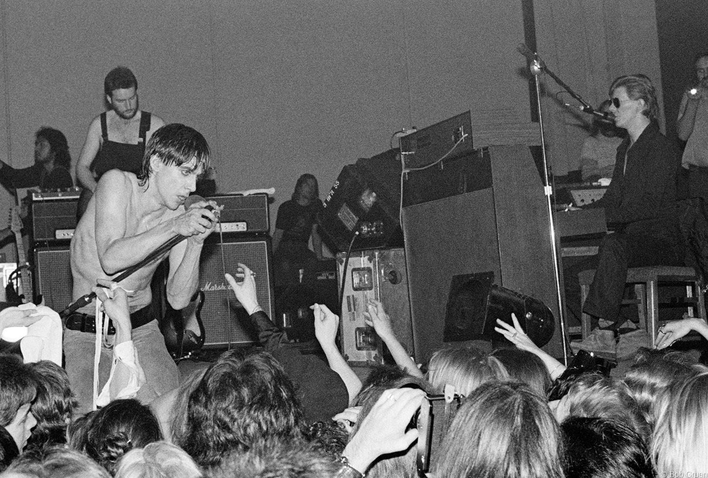 1977. Игги Поп & Дэвид Боуи в Торонто