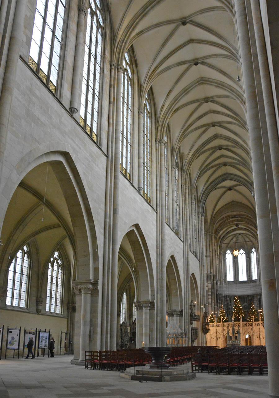 Магдебургский собор, Интерьер