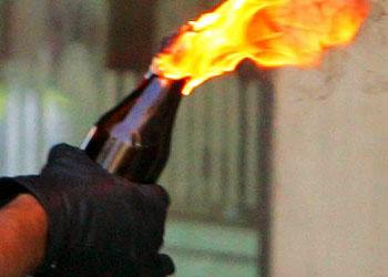 В Одессе неизвестные пытались поджечь участок