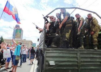 Пророссийские сепаратисты атакуют избирательные участки